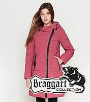Braggart Youth | Куртка женская зимняя 25325 розовая