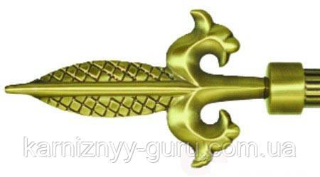 Декоративный наконечник Шишка вытянутая ø19 мм