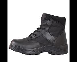 Ботинки кожа MIL-TEC Security Охрана стальной подносок Thinsulate ™ черные, фото 3