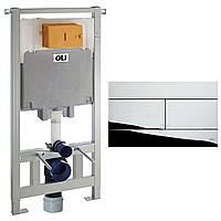 Инсталляция для унитаза OLIVEIRA 600174 OLI80 Set Oli80 mechanical instalation system+659044 Slim
