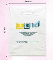 Пакет «Банан» 20×30 см