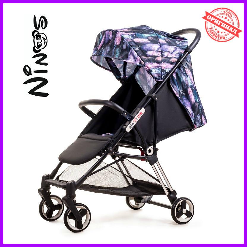Прогулочная коляска Ninos Mini Purple Bird