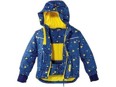 Термокуртка зимняя лыжная для мальчика синяя Lupilu р.110/116