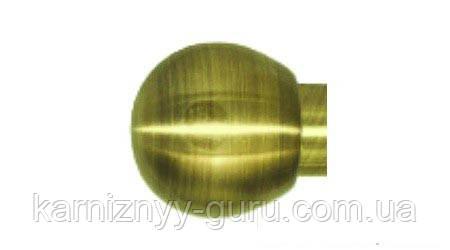 Декоративный наконечник Шар (Болонь)  ø 25мм