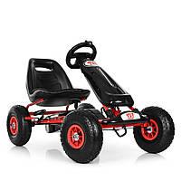 Детская педальная машина веломобиль Карт M 3590AL-2