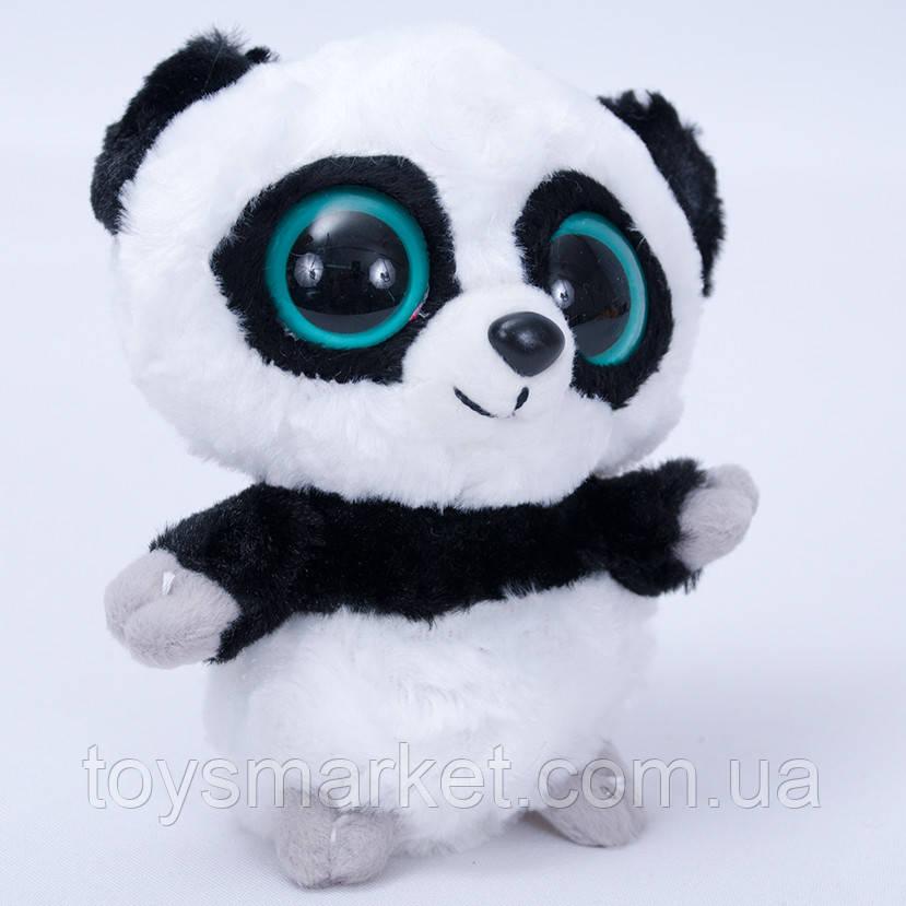 """Мягкая игрушка медведь Панда """"Глазастик"""", игрушка с большими глазами"""