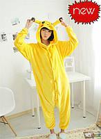 ОРИГИНАЛ Пижама кигуруми - Пикачу кенгуруми опт оптом, фото 1
