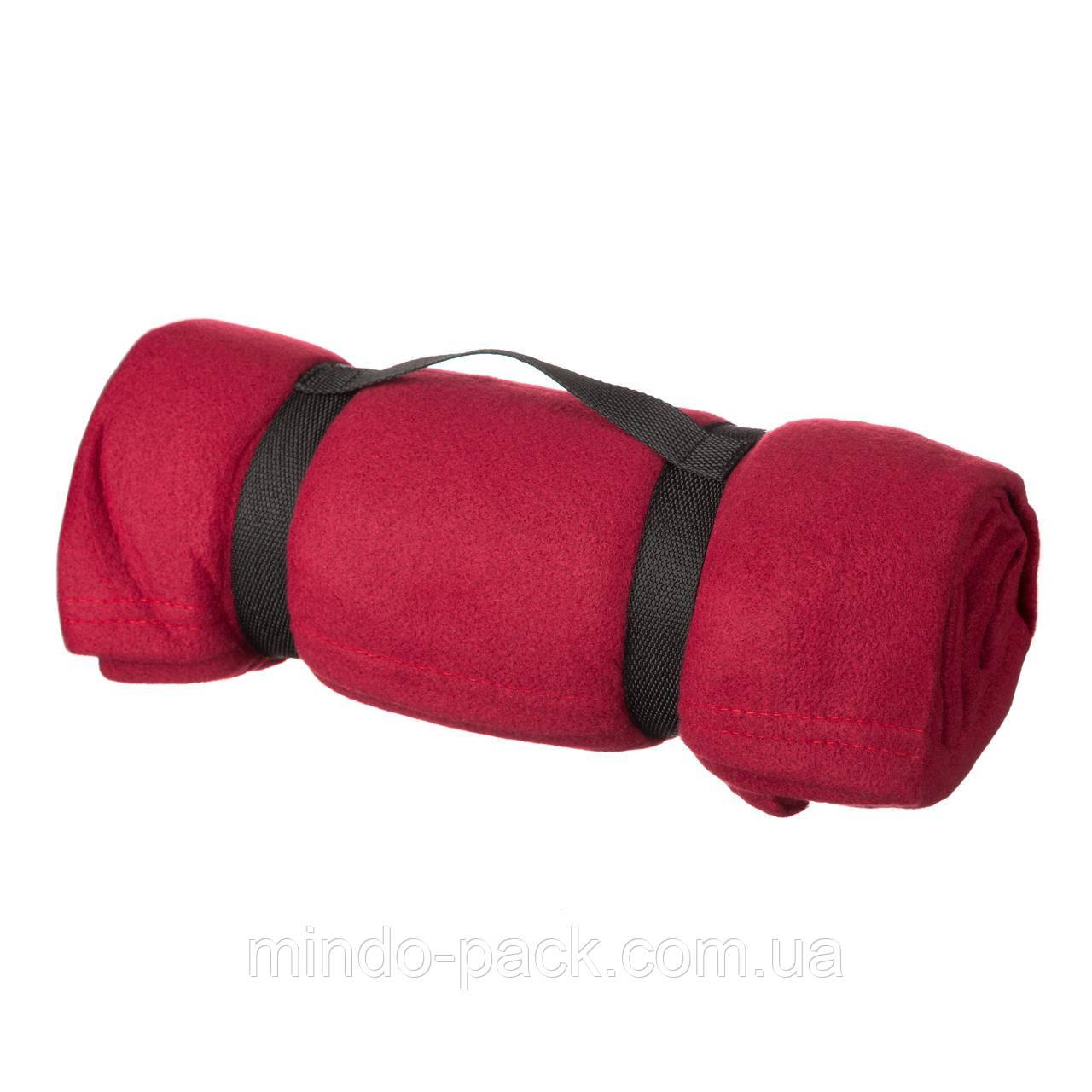 Плед с рукавами шоколадный или красный + возможность  нанесения ЛОГО (вышивка)