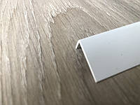 Уголок декоративный ПВХ белый 10x20x2750 мм, Белый Арочный, фото 1