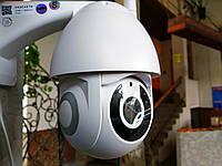Панорамная IP WiFi камера 1080p 2.0 Mp уличная поворотная 360 с датчиком движения и микрофоном V380
