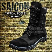 Берцы тактические (SAIGON) BLACK (Размеры 43, 44), фото 1
