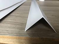 Уголок декоративный ПВХ белый 30x30x2750 мм, Белый, фото 1