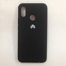 Чехол Huawei P Smart Plus Silicone Case Black