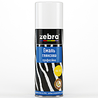 "Эмаль аэрозоль ""Zebra"" жёлтая"