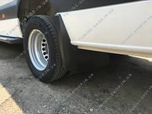 Задні бризковики Mercedes Sprinter W906 2006-2018, 2-х катковый