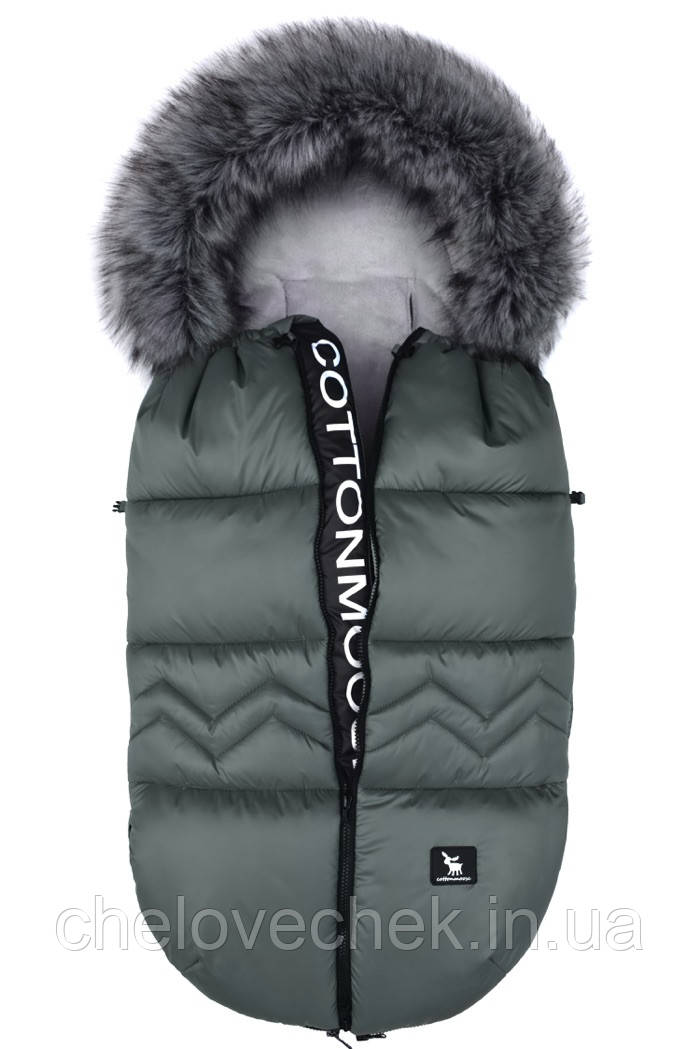 Зимний конверт Cottonmoose North Moose 873-4 хаки