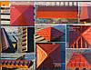 """Бетонна кришка на паркан """"Піраміда"""" 385х385х60 мм, фото 3"""
