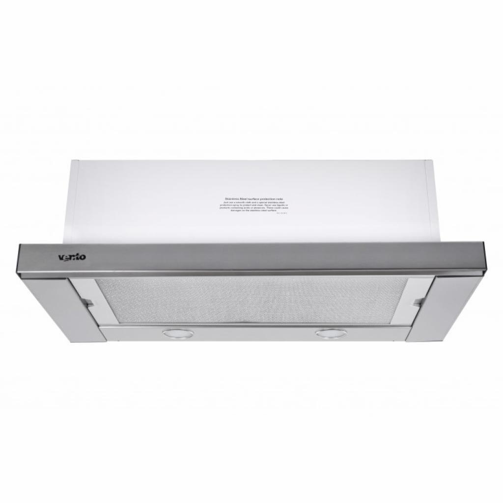 Вытяжка кухонная VENTOLUX GARDA 60 INOX (800) SMD LED