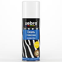 "Эмаль аэрозоль ""Zebra"" чёрная (матовая)"