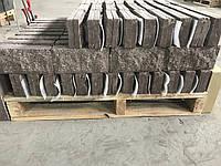 Плитка облицовочная цокольная Скала/250х120х22/Коричневая