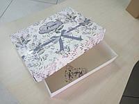 Коробка для постельного белья 390х280х70  в типографии