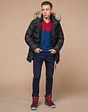Braggart Youth   Куртка зимняя 25030 черная, фото 2