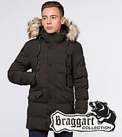 Braggart Youth | Куртка зимняя 25230 кофе