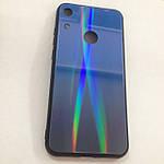 Чехол Huawei Honor 8A Holografic Blue/Blue, фото 2