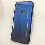 Чехол Huawei Honor 8A Holografic Blue/Blue, фото 3