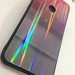Чехол Huawei Honor 8A Holografic Pink/Black, фото 4
