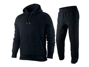 Спортивный костюм для печати, размер XS унисекс. Цвет черный