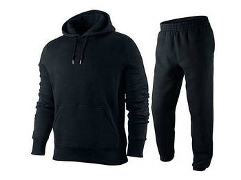 Спортивный костюм для печати, размер L унисекс. Цвет черный