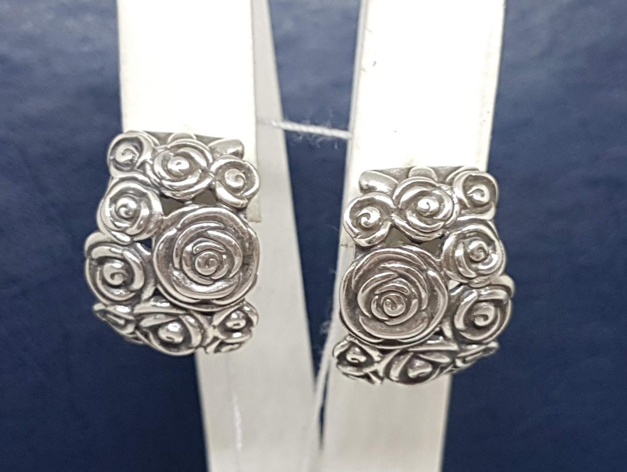 Серебряные серьги. Артикул 4854