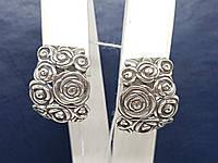 Серебряные серьги. Артикул 4854, фото 1