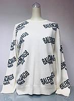 Свитер в стиле Balenciaga женский кашемир белый, фото 1