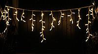 Уличная светодиодная гирлянда бахрома Lumion Icicle Light (2035-DE) 90 led цвет белый теплый без каб пит.