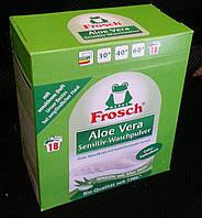 Стиральный порошок для цветного белья FROSCH ALOE VERA SENSITIV-WASCHPULVER