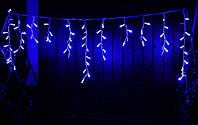 Уличная светодиодная гирлянда бахрома Lumion Icicle Light (2037-DE) 90 led  наружная цвет синий