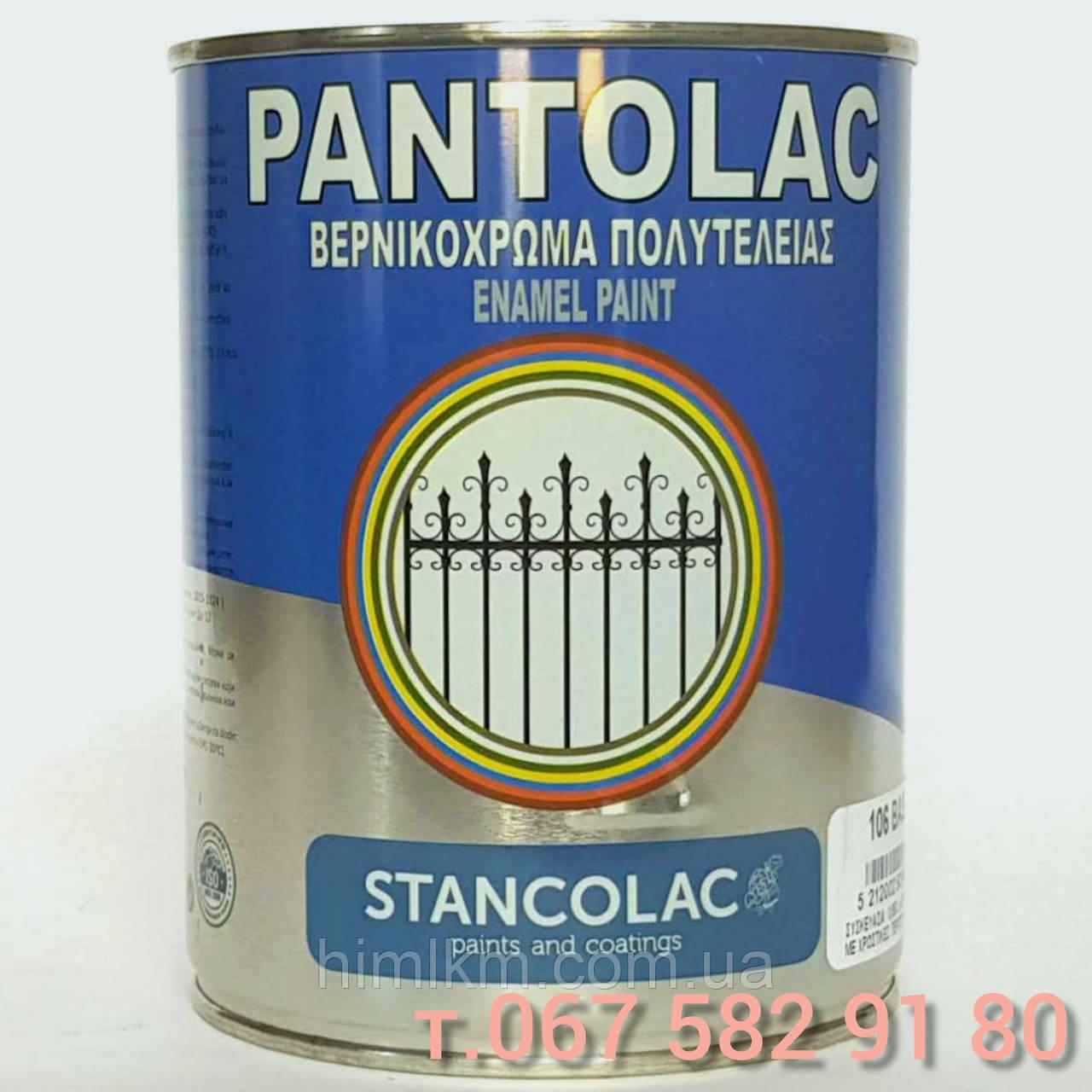 Грунт-краска Пантолак Pantolac 3 в 1 по ржавчине антикоррозионная