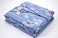 """Комплекты семейного постельного белья """"жатка"""" в голубом цвете"""