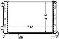 Радиатор охлаждения 1.6 16v-1.9D Doblo 2000-2005 46803039