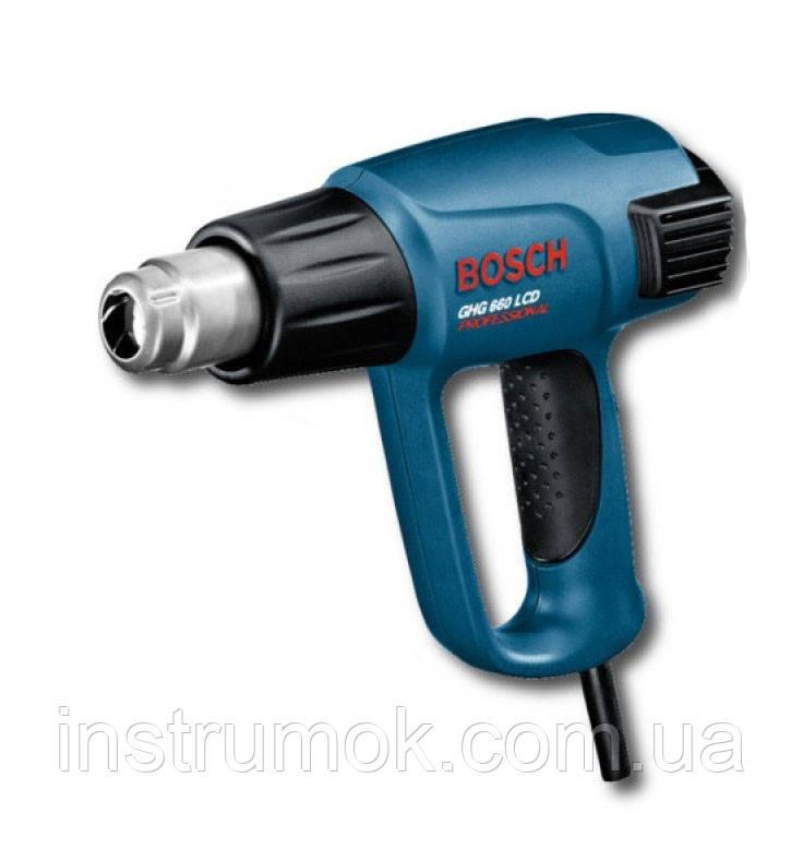 Строительный фен Bosch GHG 660LCD