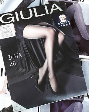 Колготы женские с люрексом Zlata 20 (1)  - Giulia, фото 2