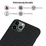 Pitaka Aramid MagCase кевларовый чехол для iPhone 11 Pro Black/Gray, фото 4