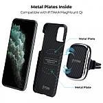 Pitaka Aramid MagCase кевларовый чехол для iPhone 11 Pro Black/Gray, фото 6