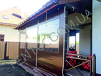 Мягкие ПВХ окна для террас и беседок