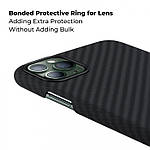 Pitaka Aramid MagCase кевларовый чехол для iPhone 11 Pro Black/Gray, фото 8