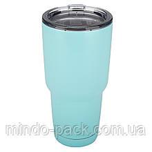 Термокружка YETI Rambler Tumbler 30 OZ (Голубой)
