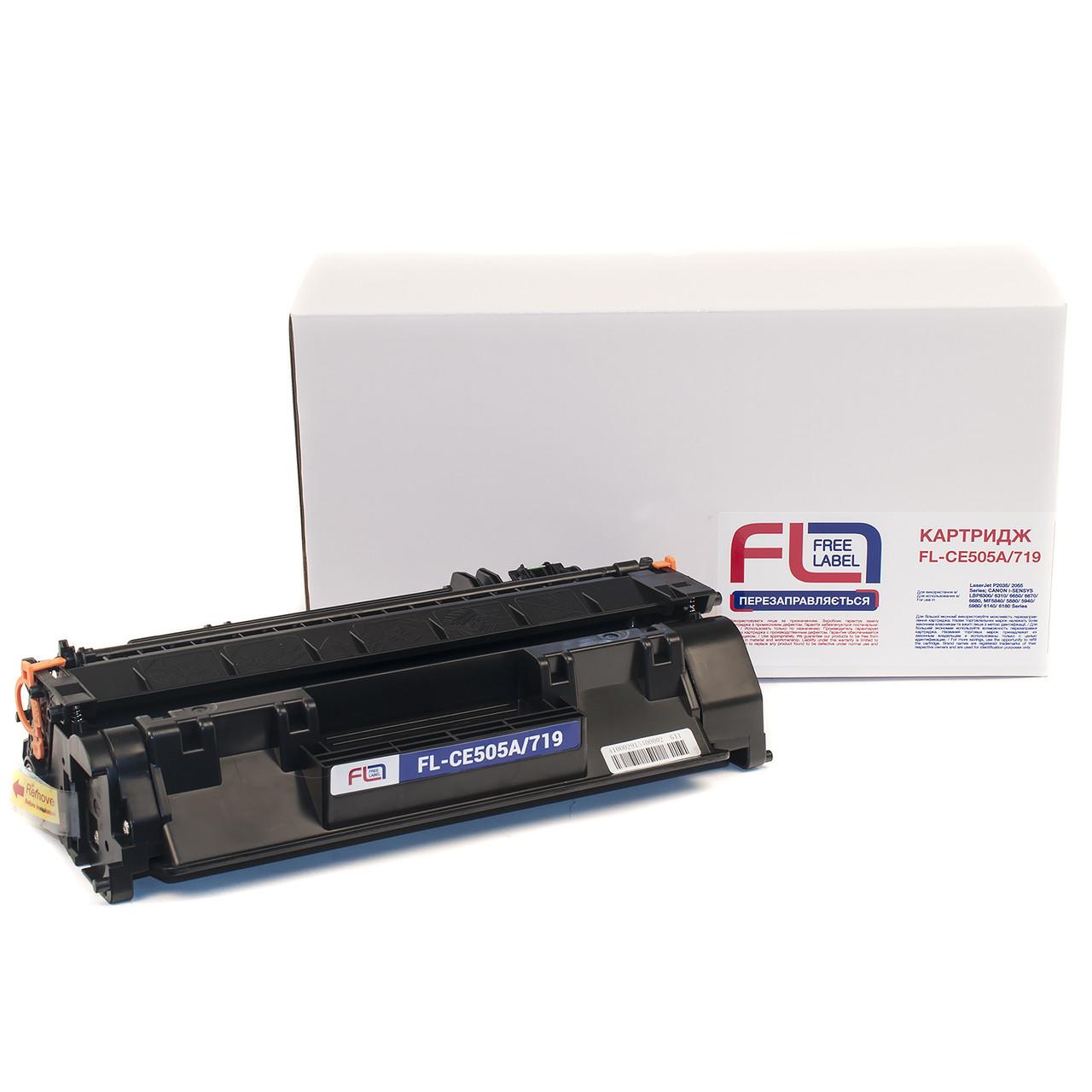 Лазерний Картридж HP LJ CE505A/CANON 719 (FL-CE505A/719) INCOLOR Canon i-SENSYS MF3010B