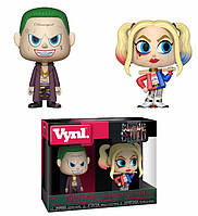 Набор фигурок Funko Vynl DC Harley Quinn and Joker ДС Харли Квинн и Джокер Отряд Самоубийц Suicide Squad Vynl